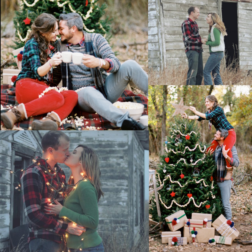 Rustic Outdoor Christmas