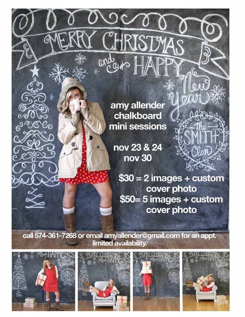 Amy Allender Christmas Mini Sessions