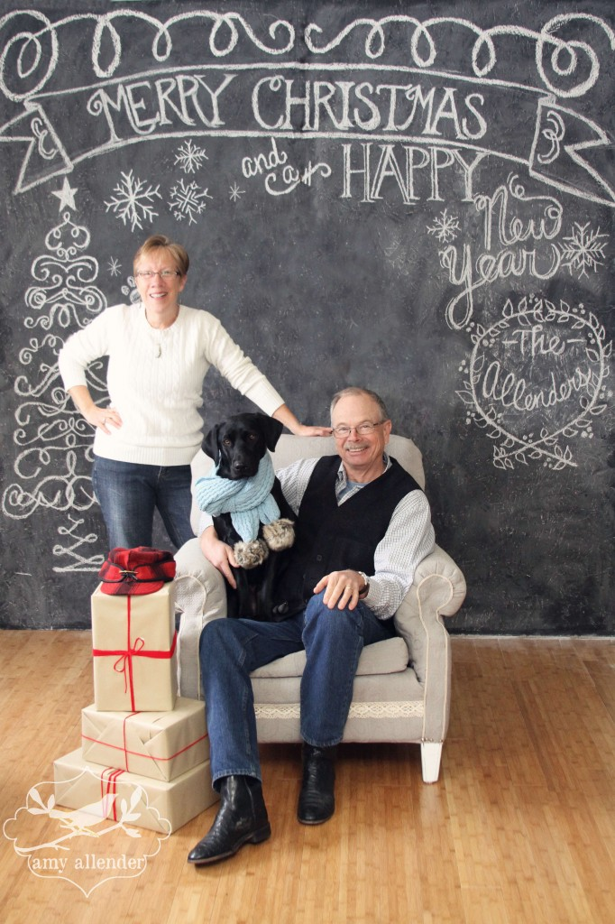 Chalkboard Christmas Sessions