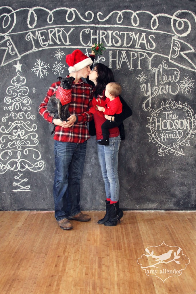 Christmas Chalkboard Sessions