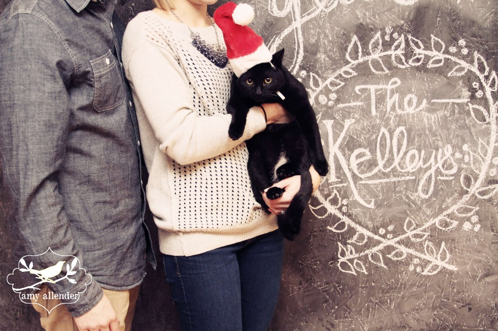 Chalkboard Christmas Session