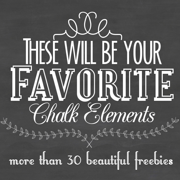 favorite chalk elements