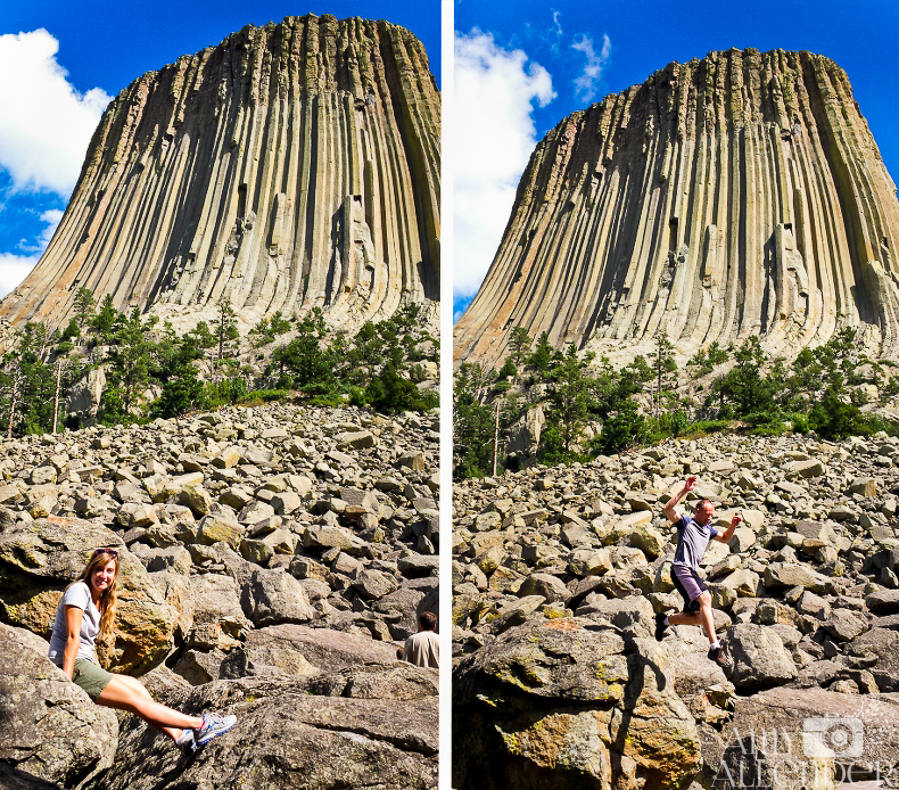 hiking devil's tower