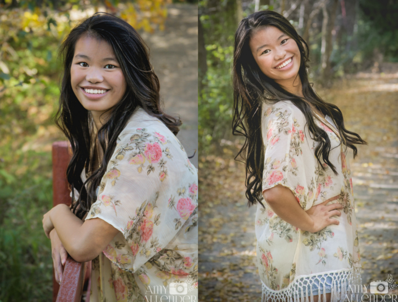 park senior portraits
