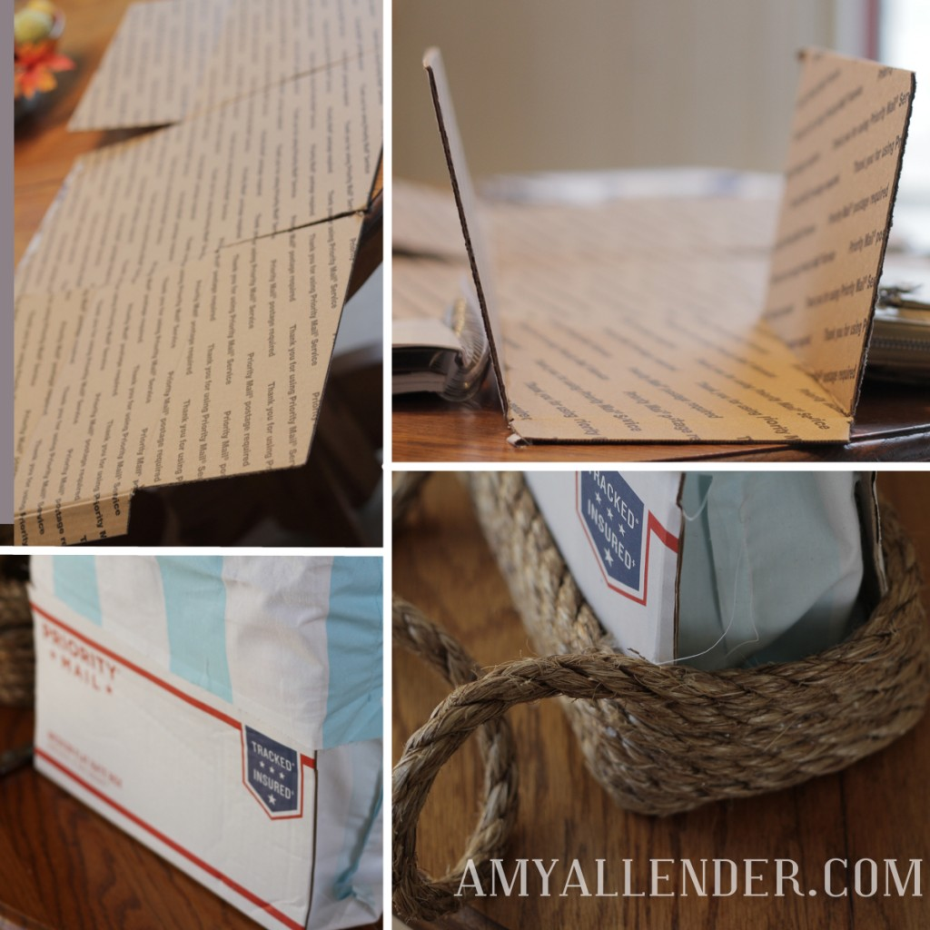 DIY sisal tote bag tutorial