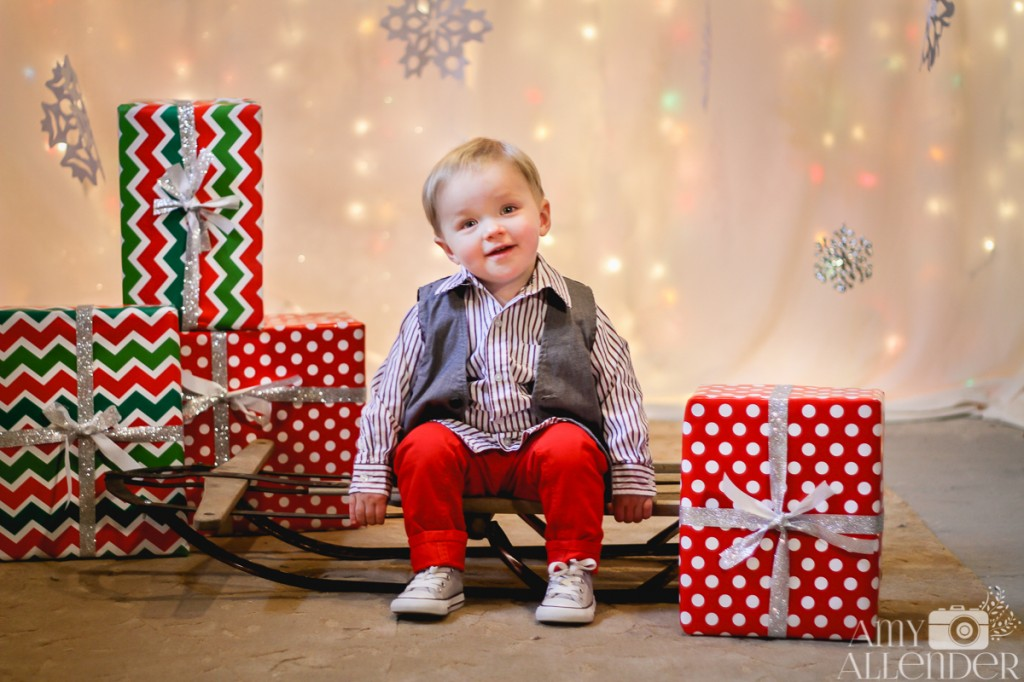 Christmas mini sessions Minot, ND