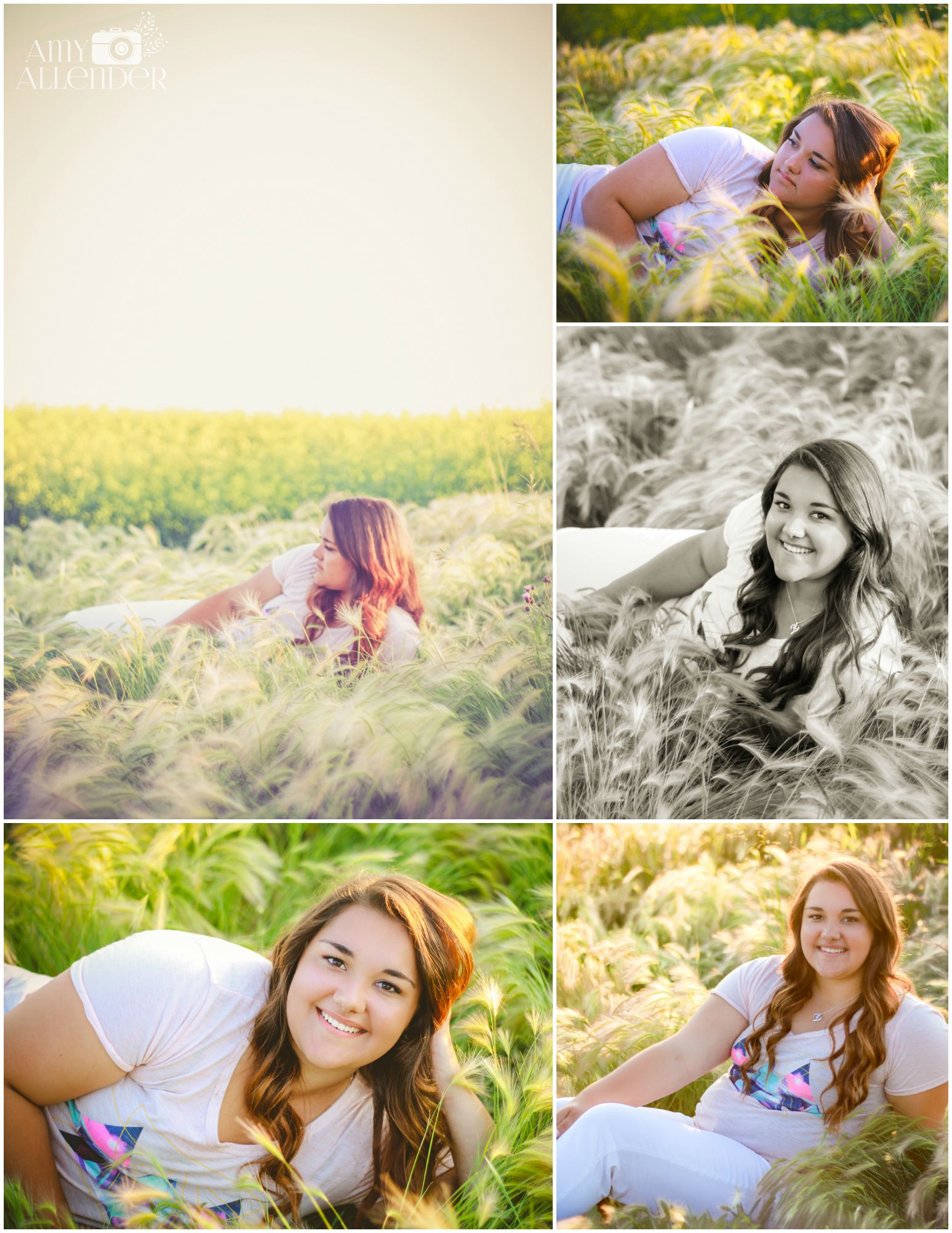 field senior pictures