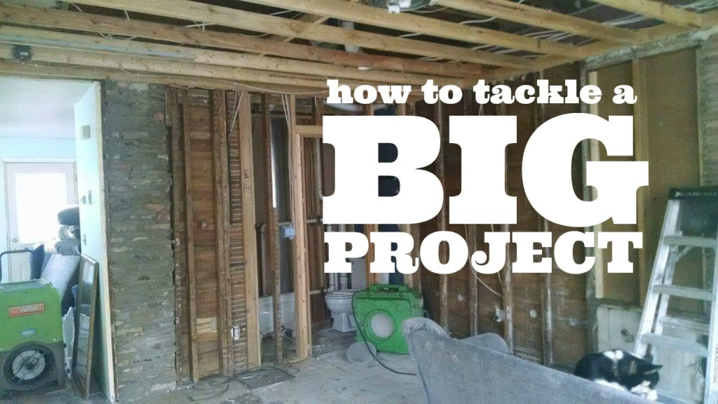 how to tackle a big project