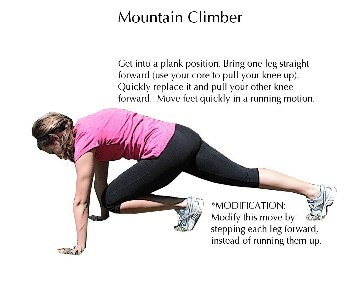 How to Do Mountain Climbers | Mountain Climbers Core
