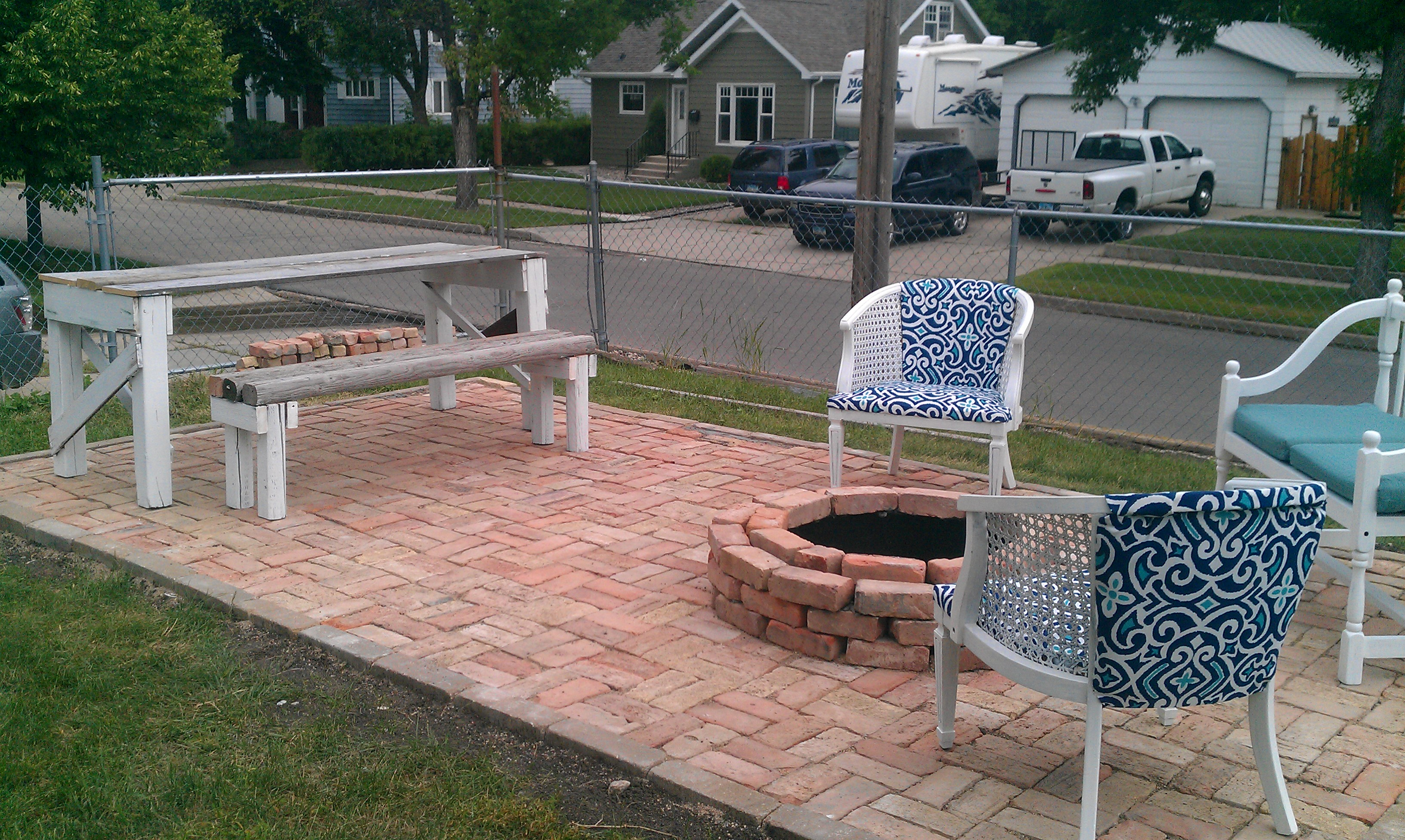 How to make a patio and impress your friends amy allender dot