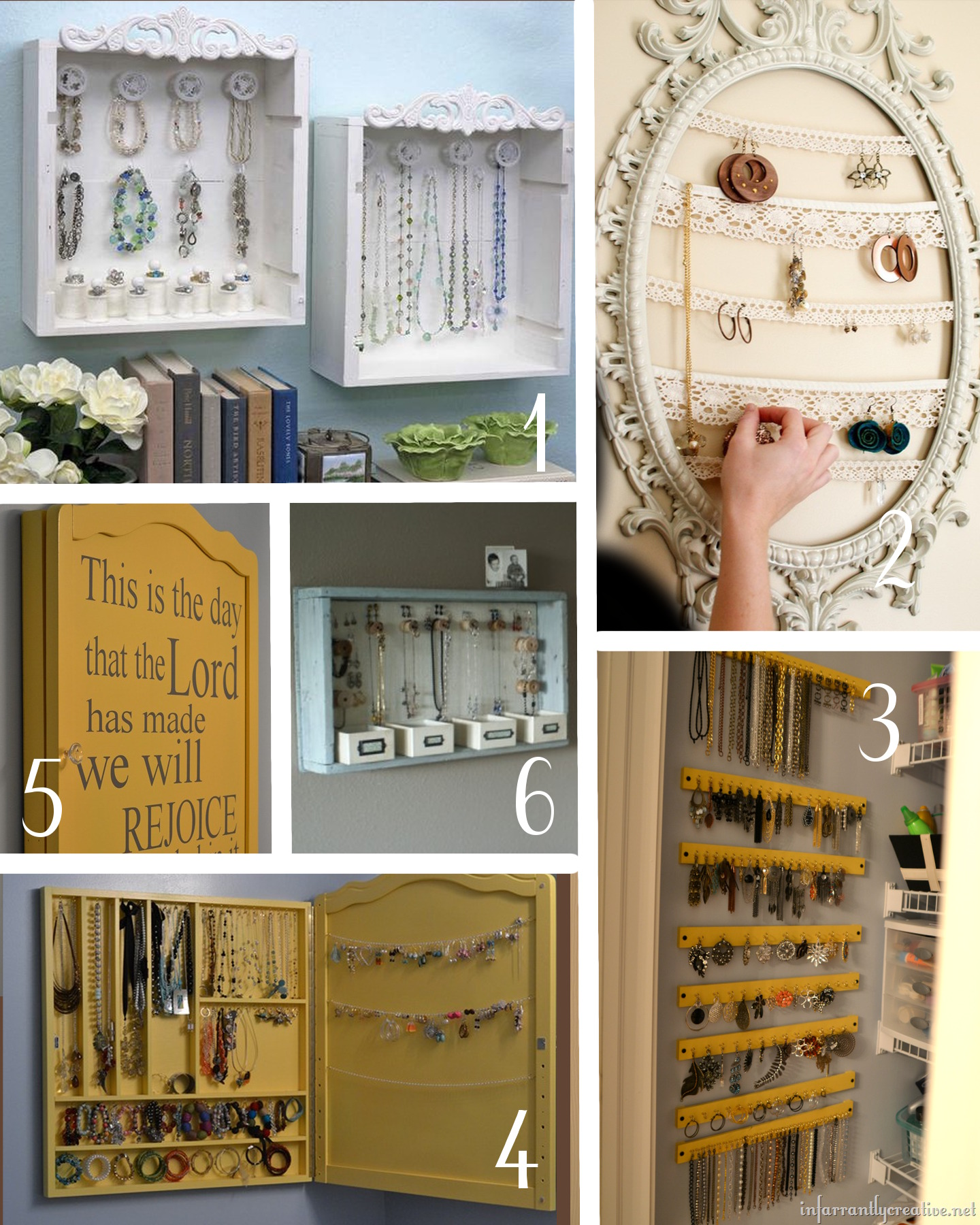 Clever and Quick Jewelry Organizers amy allender dot com
