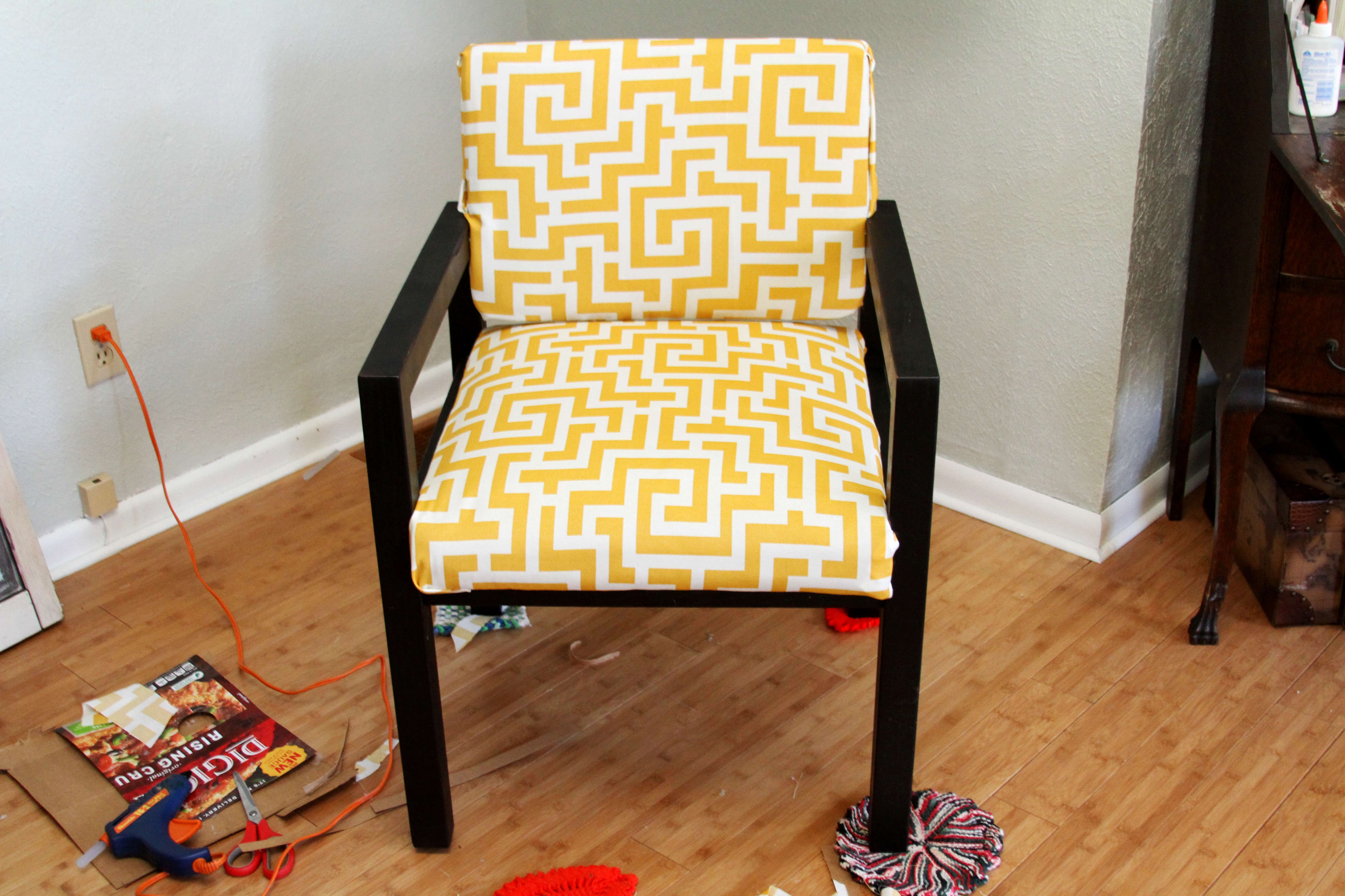 The Art of Projects Recovering Chairs amy allender dot