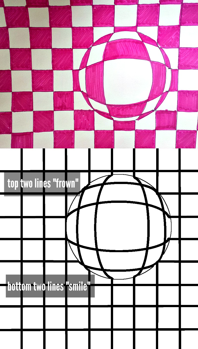 Line Art Projects Middle School : Optical illusion art for kids rd grade