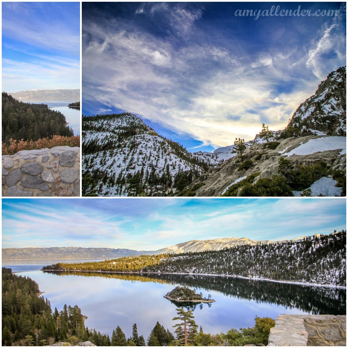 winter lake tahoe