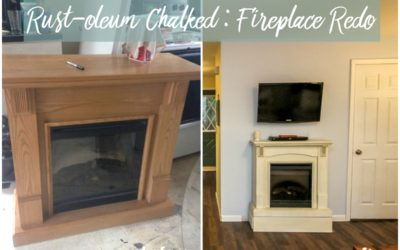 Chalked : Fireplace Redo : Product Review