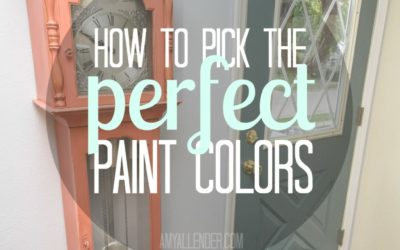 How to Pick Paint Colors | 5 Easy Steps
